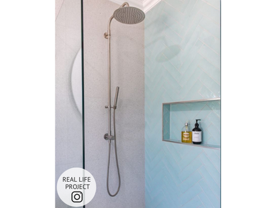 Newport Gloss Subway Duck Egg Blue Tile
