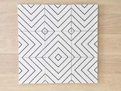 Waverley Encaustic Look Tile