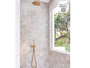 Ocean Beach White Encaustic Look Square Tile