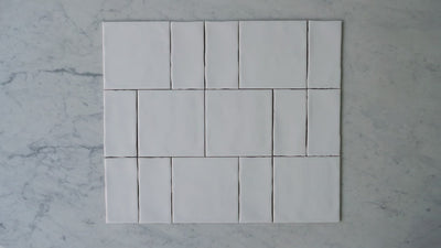 Newport Gloss Square & Subway Pattern Tile
