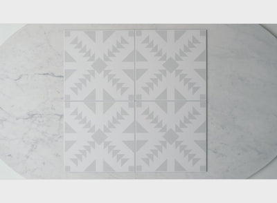 Austinmer Grey Encaustic Look Tile