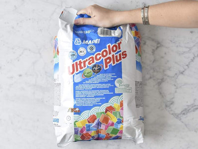 Mapei Grout Ultracolor Plus Silver Grey 5kg Bag