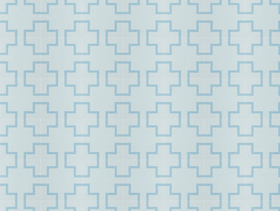Bondi Blue Encaustic Tile