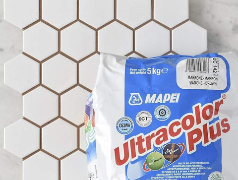 Mapei Grout Ultracolor Plus Brown 5kg Bag