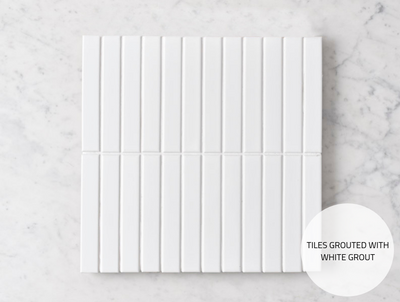 Brunswick Kit Kat Gloss White Tile