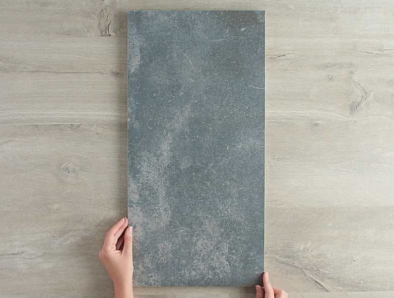 Rosebery Matt Charcoal Concrete Look Tile