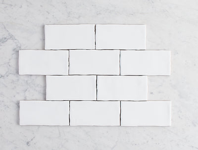 Newport Gloss Small White Subway Tile