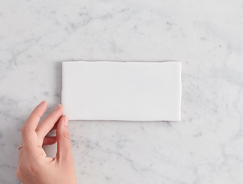 Newport Matt Small White Subway Tile