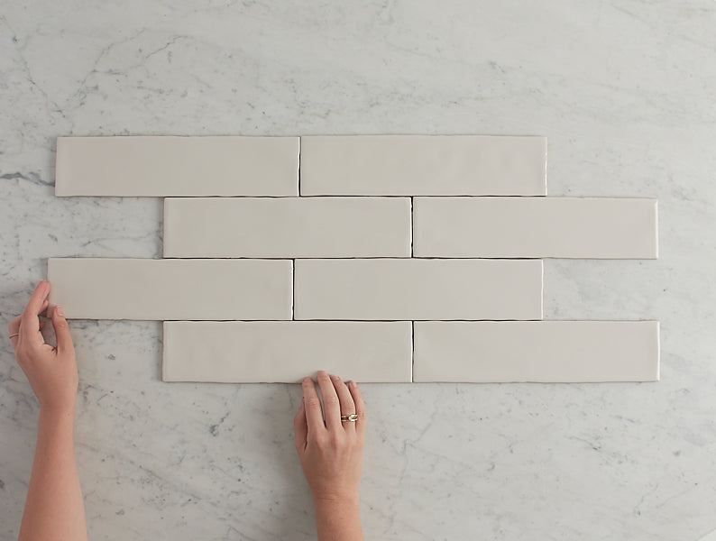 Newport Gloss Subway Bone Tile