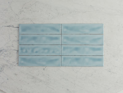 Newport Gloss Subway Ocean Blue Tile