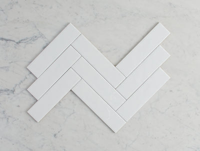Newport Gloss Mini Subway White Tile