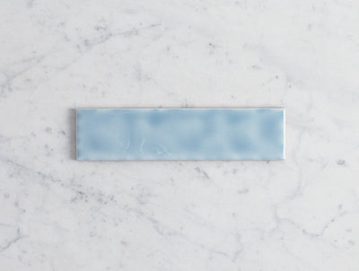Newport Gloss Mini Subway Ocean Blue Tile