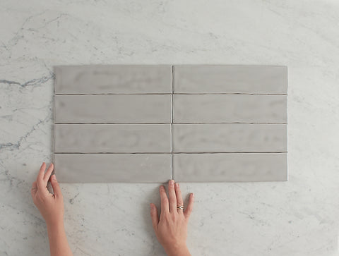 Newport Gloss Subway Grey Tile