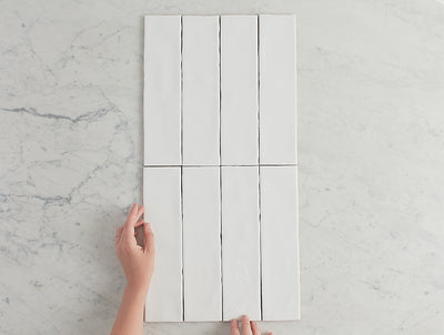 Newport Gloss Subway White Tile