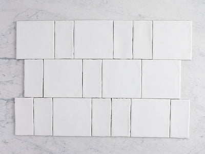 Newport Matt Square & Subway Pattern Tile