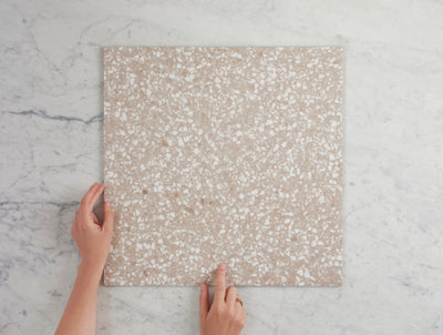 Paddington Terracotta Terrazzo Look Tile
