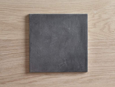 Brighton Beach Black Encaustic Look Square Tile