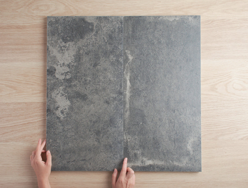 Windsor Matt Charcoal Concrete Look Tile.