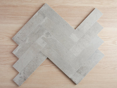 Windsor Matt Grey Concrete Look Subway Tile