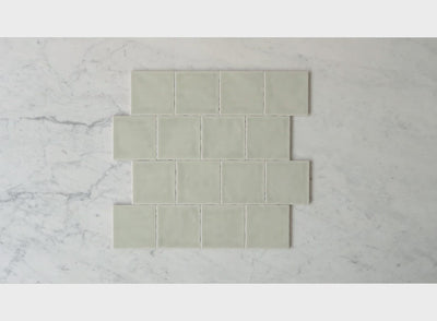 Newport Gloss Sage Green Small Square Tile