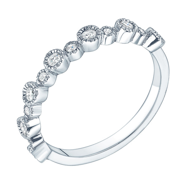 Jessica Jewellery multiple circle diamond ring.