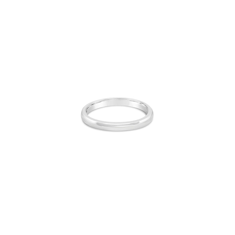 2mm Gold Wedding Band
