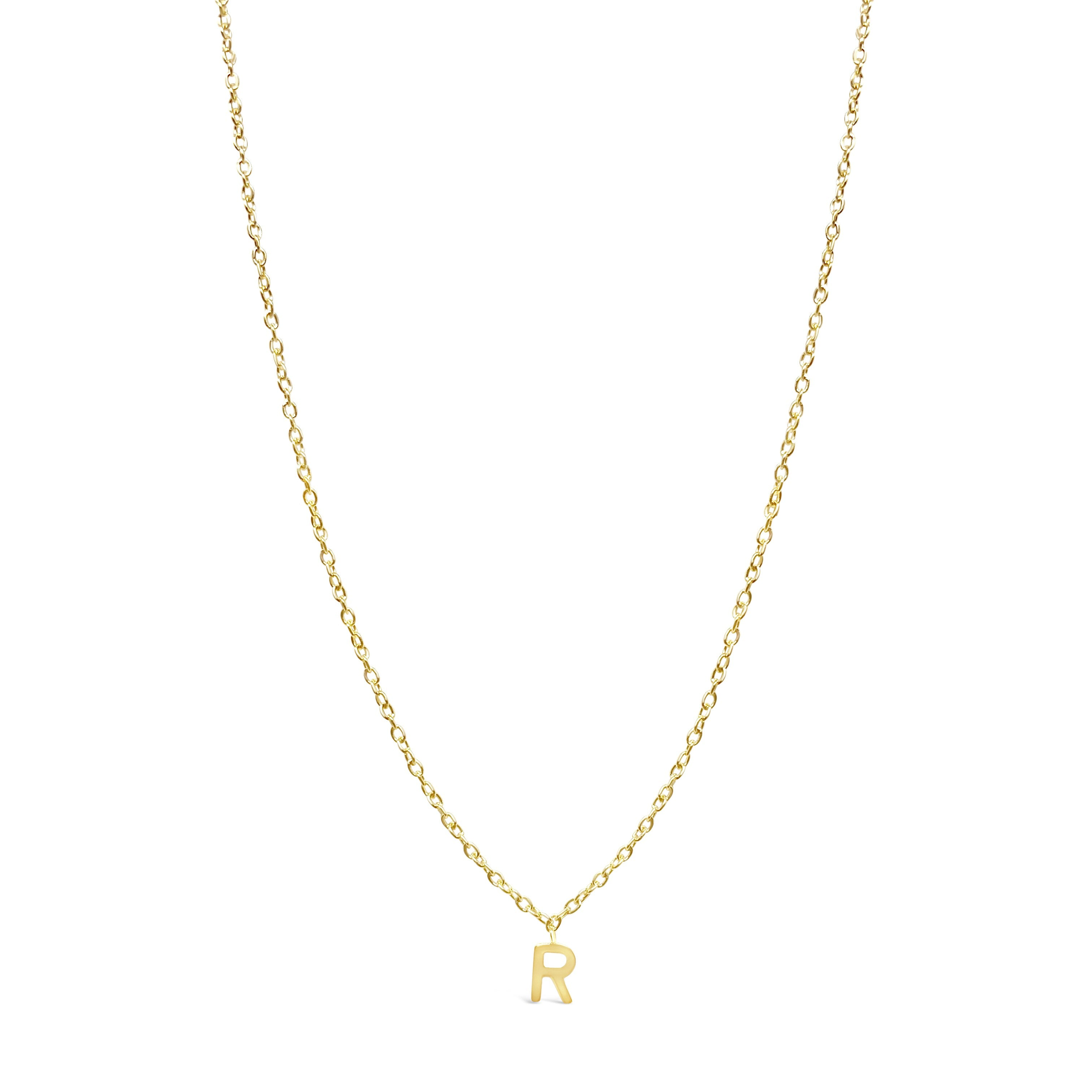 Dangling Initial Necklace