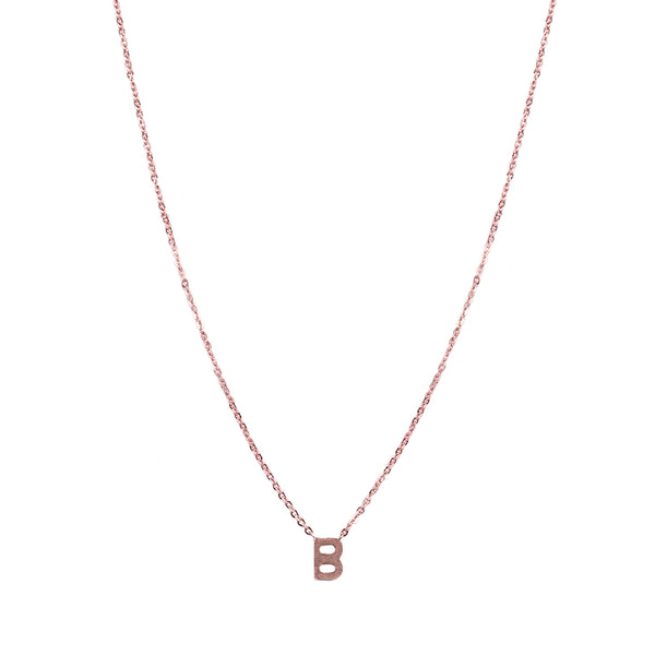 Centered Initial Necklace