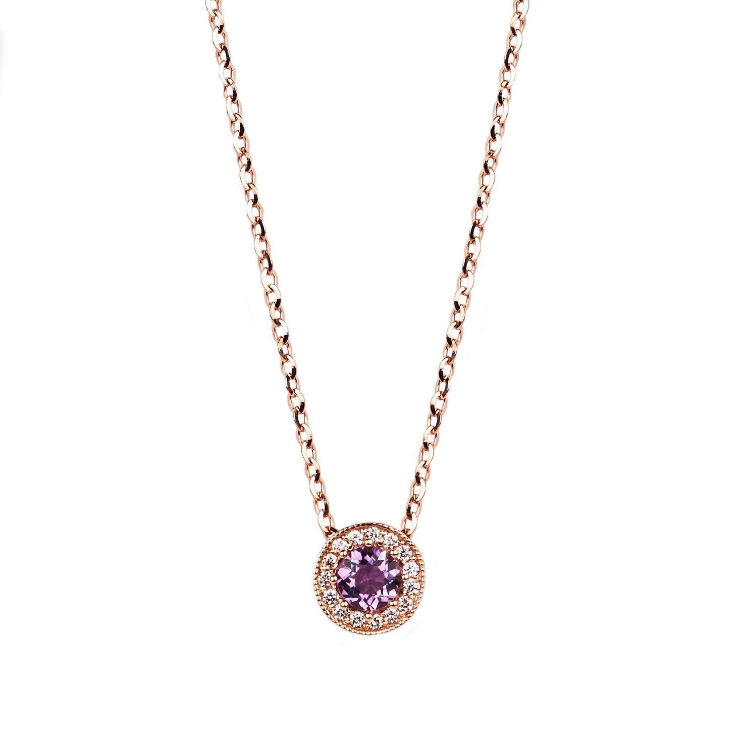 Gemstone and Diamond Necklace
