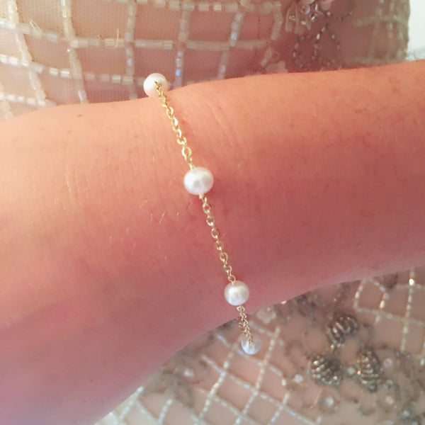 Pearl by the Yard Bracelet