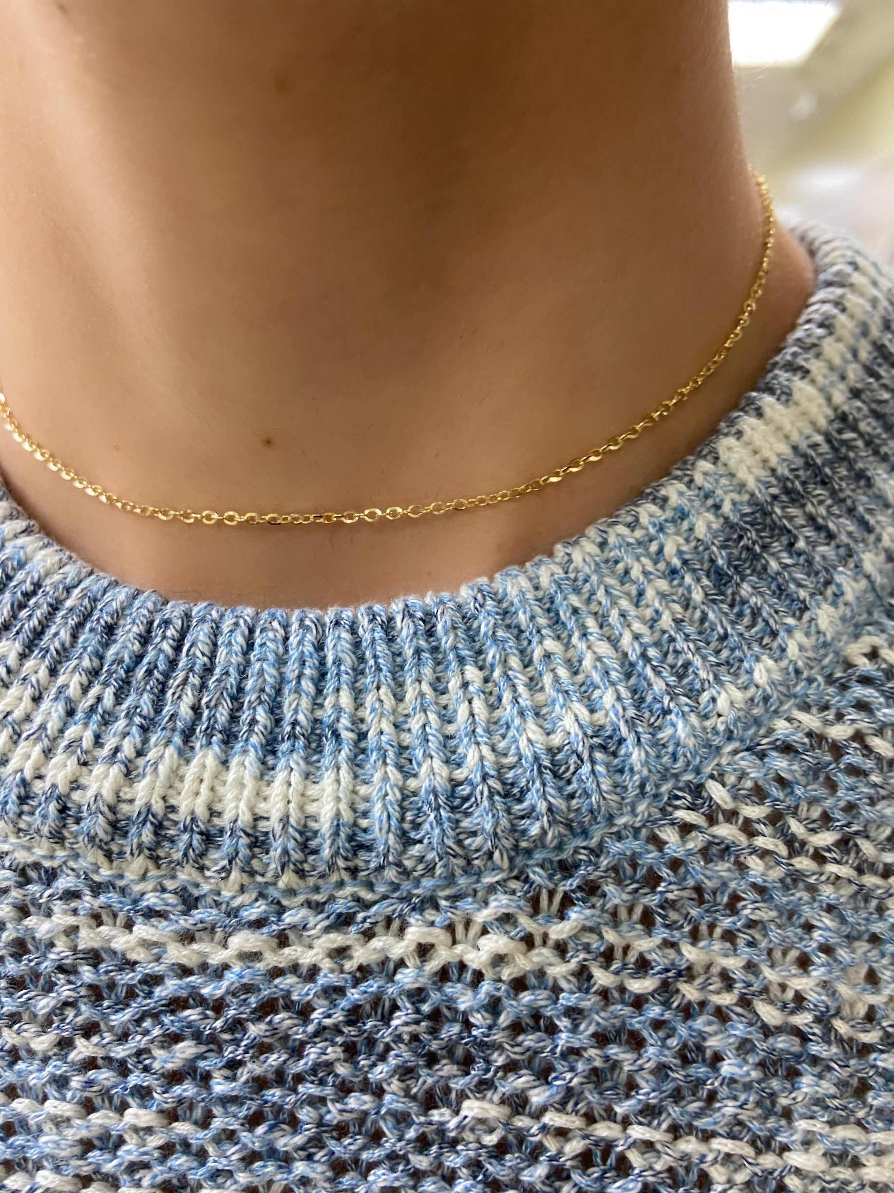 Mini-Link Choker Necklace