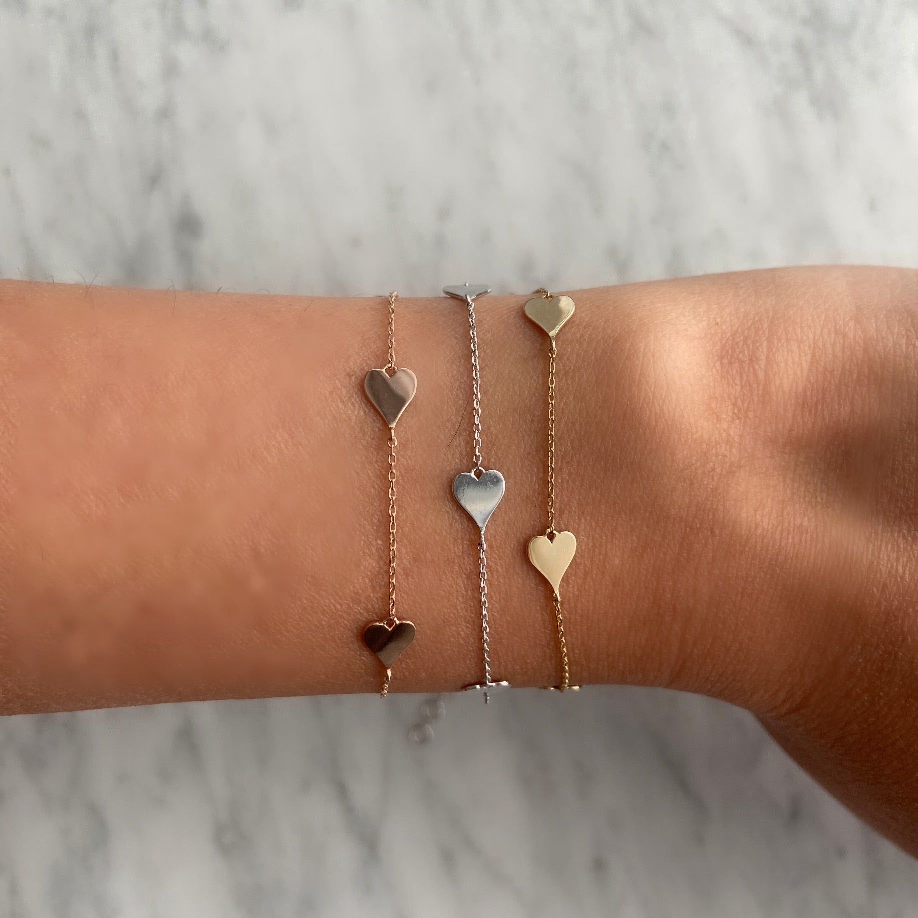 Heart by the Yard Bracelet