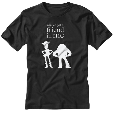 Youve Got A Friend In Me Toy Story Quote B Mens T Shirt