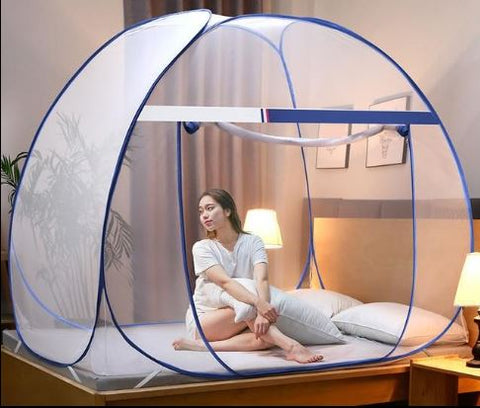 Pop-Up Mosquito Net Bed Canopy Tent