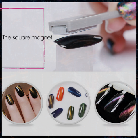 Magnetic Cateye Galaxy Design Professional Nail Gel Kit