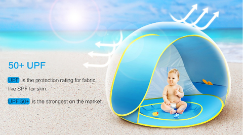 Portable Popup Beach Baby Pool Tent