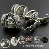 Winged Sphere Expanding Photo Locket
