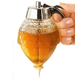Multifunction Premium Non-Drip Honey Pot Dispenser