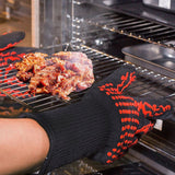 Heat-Resistant Kitchen BBQ Gloves
