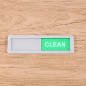 Clean-Dirty Magnetic Dishwasher Slider Sign