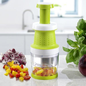 Slap Chopper Manual Food Processor