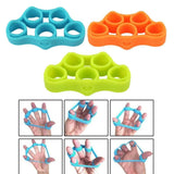 Silicone Finger Hand Grip Strengthener Trainer