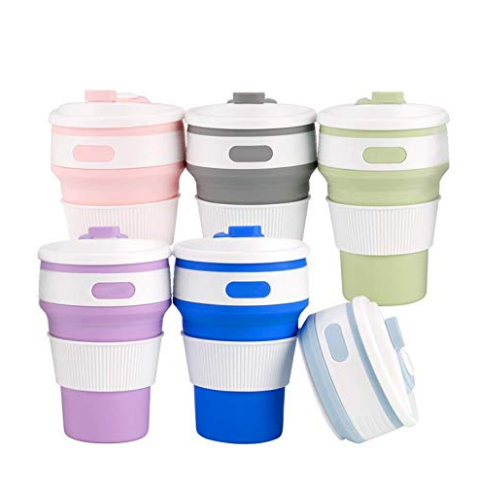 Best Collapsible Silicone Mug Tumbler