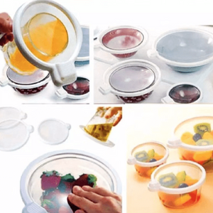 Quick Reusable Seal Vacuum Container Lids
