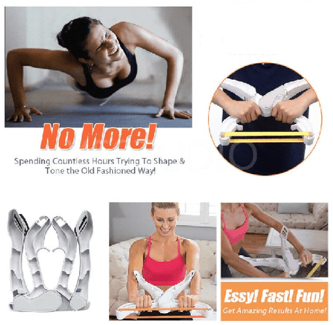 Wonder Arms Resistance Bands Muscle Trainer