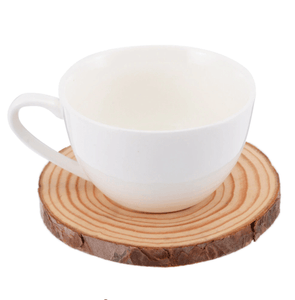 Rustic Wooden Slices Drink Coasters