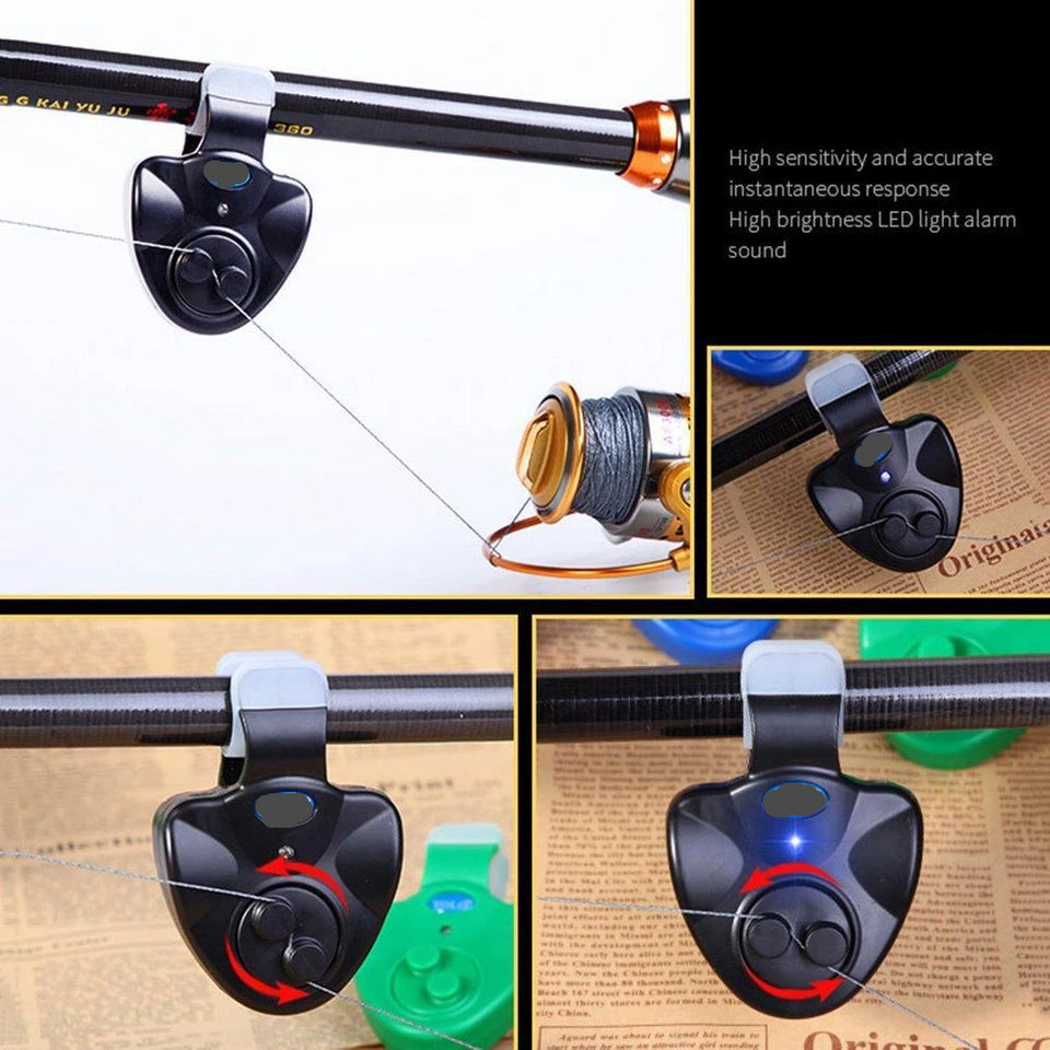 Fishing Rod Clip-On Detector Bite Alarm
