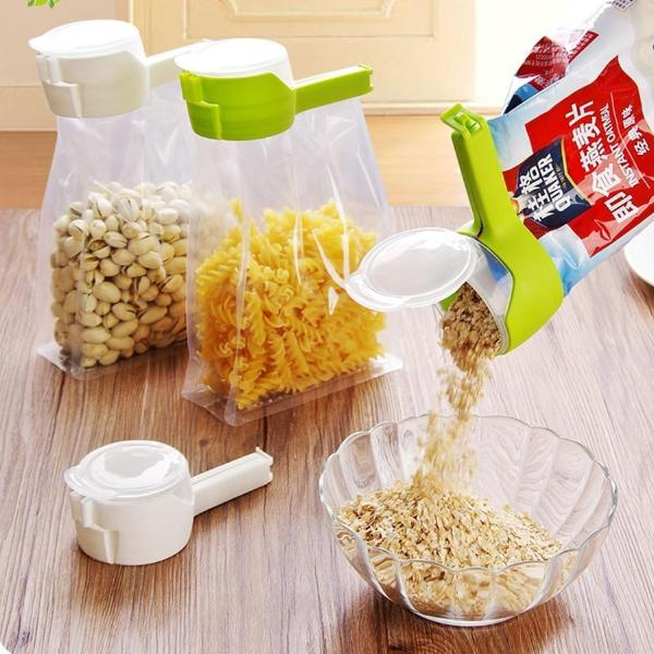 Plastic Snack Food Bag Sealing Storage Clip