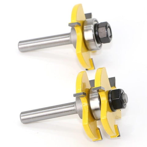 Tongue and Groove Assembly Router Bits