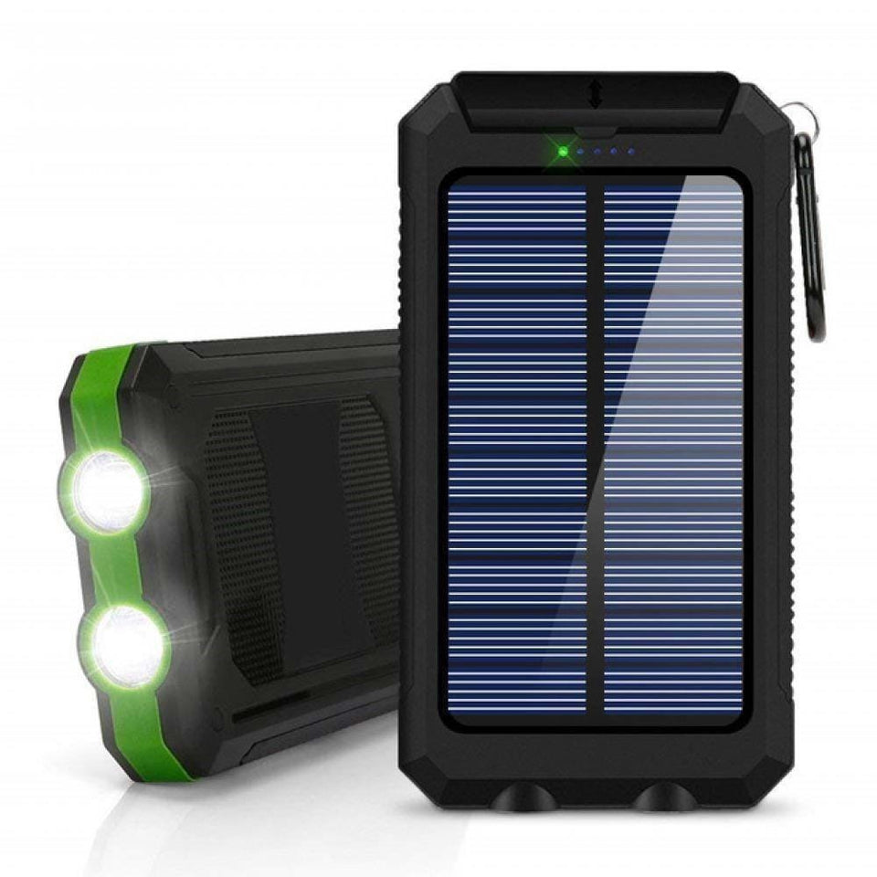 LED Emergency Solar Power Bank